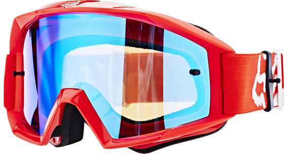 Fox Main Race Goggles rød